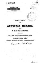 Tratado de anatomía humana: Prolegómenos de anatomía humana, Volumen 1