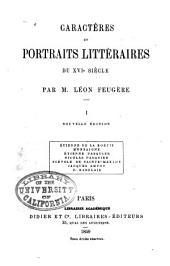 Caractères et portraits littéraires du XVIe siècle: Étienne de la Boétie. Montaigne. Étienne Pasquier. Nicolas Pasquier. Scévole de Sainte-Marthe. Jacques Amyot. F. Rabelais
