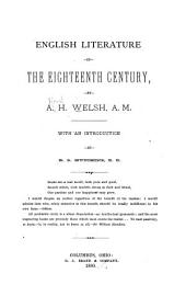 English Literature in the Eighteenth Century