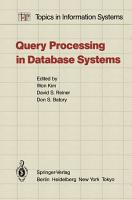 Query Processing in Database Systems PDF