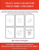Art Ideas for Kids  Trace and Color for Preschool Children  PDF