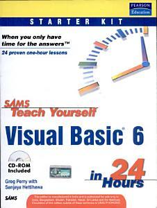 Sams Teach Yourself Visual Basic 6 In 24 Hours PDF