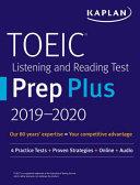 TOEIC Listening and Reading Test Prep Plus 2019 2020 PDF