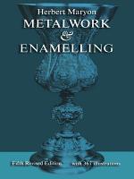 Metalwork and Enamelling