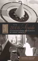 Guide to Distinguished Restaurants of North America