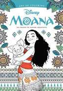 Art of Coloring  Moana Book