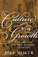 A Culture of Growth PDF