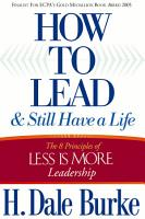 How to Lead and Still Have a Life PDF
