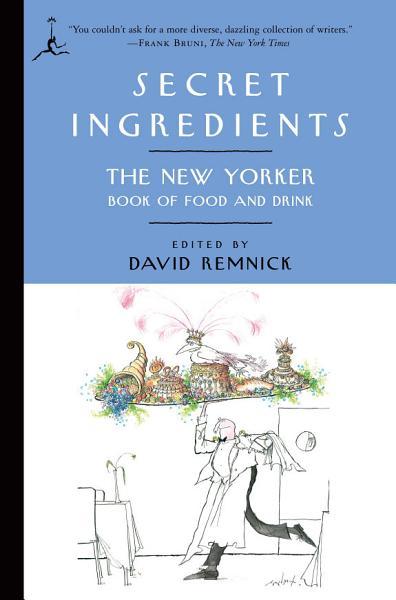 Download Secret Ingredients Book