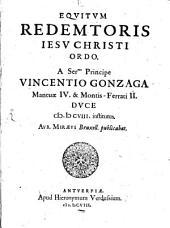 Equitum redemptoris Jesu Christi ordo