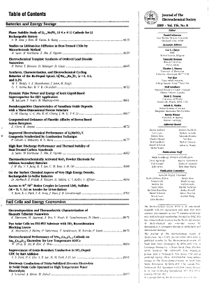 Journal of the Electrochemical Society PDF