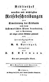 Reise durch das türkische Reich, Ägypten und Persien... von 1792 bis 1798: Zweiter Theil, Band 1