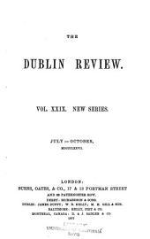 The Dublin Review: Volume 29; Volume 81