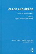 Class and Space  RLE Social Theory  PDF