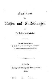 Lexikon der Reisen und Entdeckungen PDF