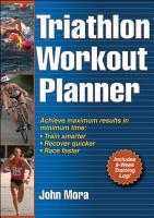 Triathlon Workout Planner PDF