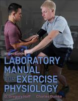 Laboratory Manual for Exercise Physiology PDF