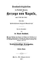 Denkwürdigkeiten des Marschalls Marmont, Herzogs von Ragusa, von 1792 bis 1841: nach dessen hinterlassenem Original, Band 3