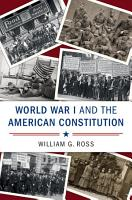 World War I and the American Constitution PDF