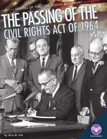 Passing of the Civil Rights Act Of 1964 PDF