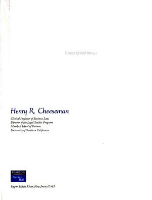 Contemporary Business and Online Commerce Law PDF