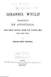 Wyclif's Latin works: Volume 29