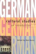 German Cultural Studies PDF