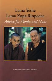 Advice for Monks and Nuns