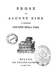 Prose ed alcune rime di Monsignor Giovanni Della Casa