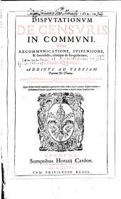 Commentariorum ac disputationum in tertiam partem Divi Thomae tomus ...