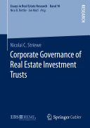 Corporate Governance of Real Estate Investment Trusts