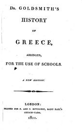 History of Greece: abridged for the use of Schools