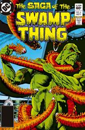 The Saga of the Swamp Thing (1982-) #6