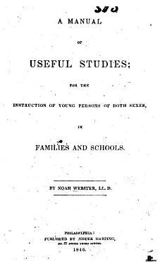 A Manual of Useful Studies PDF