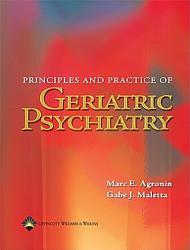 Principles And Practice Of Geriatric Psychiatry Book PDF