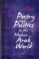 Poetry and Politics in the Modern Arab World PDF