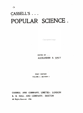 Cassell's Popular Science: Volume 1, Part 1