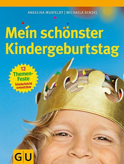 Mein sch  nster Kindergeburtstag PDF