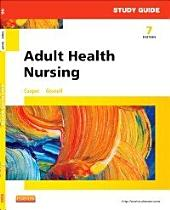 Study Guide for Adult Health Nursing - E-Book: Edition 7