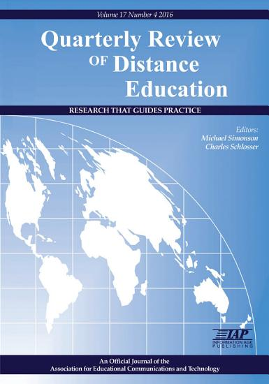 Quarterly Review of Distance Education PDF