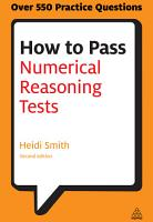 How to Pass Numerical Reasoning Tests PDF