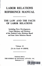 Labor Relations Reference Manual PDF