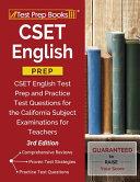 CSET English Prep