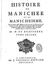 Histoire critique de Manichée et du manicheisme