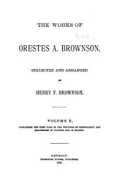 The Works of Orestes A. Brownson: Civilization