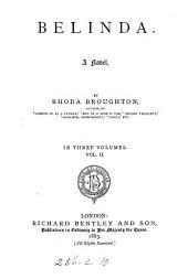Belinda: A Novel, Volume 2