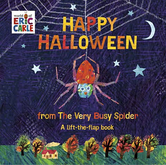 Happy Halloween from the Very Busy Spider