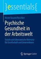 Psychische Gesundheit in der Arbeitswelt PDF