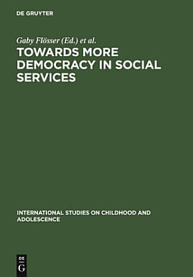 Towards More Democracy in Social Services PDF