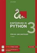 Einf  hrung in Python 3   f  r Ein  und Umsteiger PDF